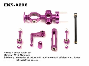 metal rotor head set of honey bee king & cool EK5-0208