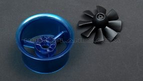 Micro 40mm EDF,including the unique 8-blade fan rotor  and ducted housing