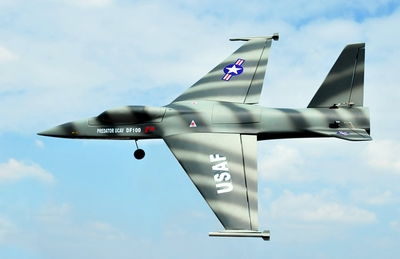 Military EDF UCAV 101mm Electric Ducted Fan RC Airplane Kit RC Remote Control Radio