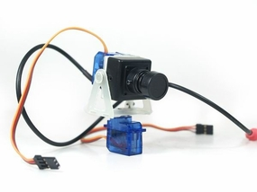 Mini Camera Mount(servos+bearings)