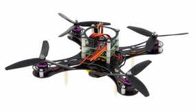 Mini Fly QuadCopter ARF w/ KK Board (Black) RC Remote Control Radio