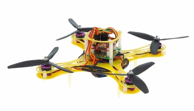 Mini Fly QuadCopter ARF w/ MWC Board Brushless Motor, 12A ESC (Yellow) RC Remote Control Radio