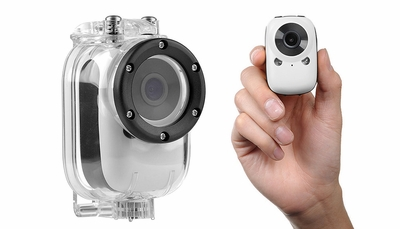 Mini Sport Car Spy Video Camera WiFi HD Video Recorder (White)