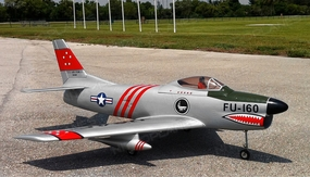 Modelbau F86 Sabre Dog Turbine Jet Kit Gas_F86Sabre