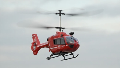 "New 19"" 2.4Ghz Art-Tech EC-135 4 Channel Eurocopter Helicopter Fully Loaded w/ LiPo Battery 100% RTF"