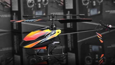 New 2.4Ghz 4 Channel V911 RC mini Helicopter (Orange) RC Remote Control Radio