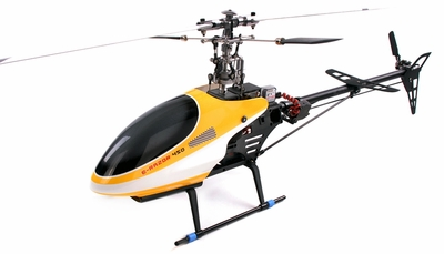 NEW!! (2.4Ghz Version) E-Razor 450 Metal RTF Direct-Belt-Drive Brushless 3D 450 Helicopter Fully-Loaded w/ Lipo, Brushless Motor+ESC and 6-Channel Remote RC Remote Control Radio