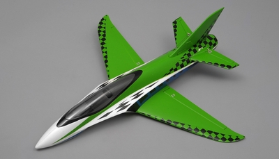 "NEW 3 Channel Exceed RC Mini X 26"" Electric Powered RC Airplane Kit (Green) RC Remote Control Radio"