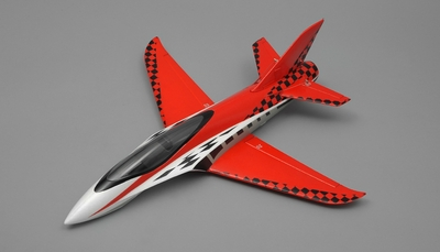 "NEW 3 Channel Exceed RC Mini X 26"" Electric Powered RC Airplane Kit (Red) RC Remote Control Radio"