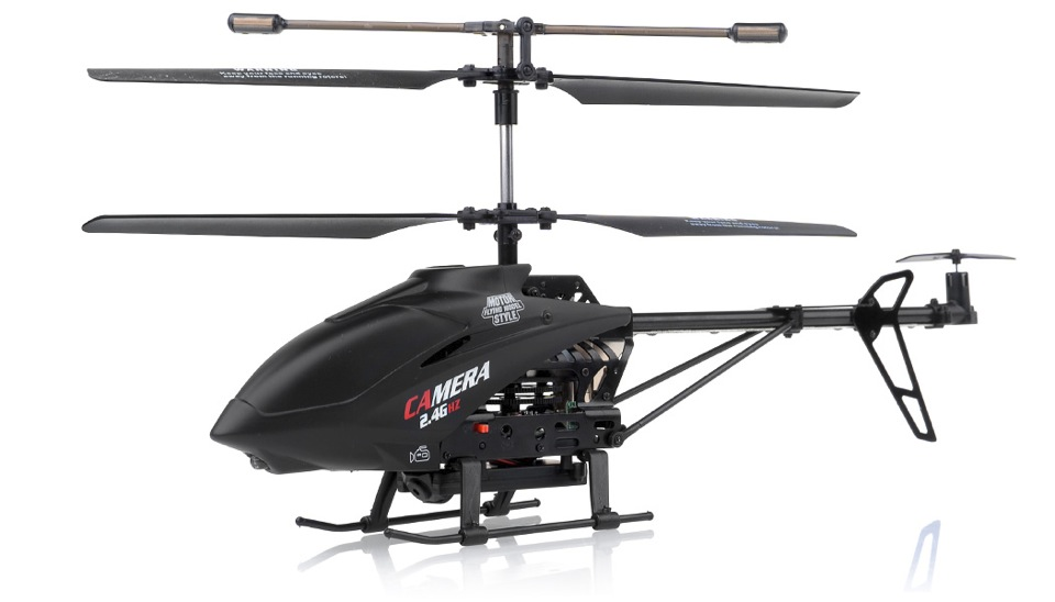 3 Channel RC Helicopter UDI U13A 2.4Ghz w/ Video Camera RC Remote ...