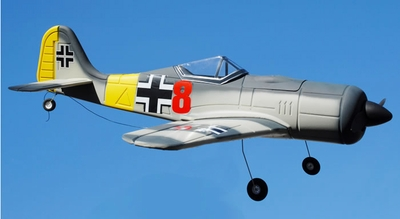 New 4 CH Focke-Wulf FW 190 Radio Remote Control Electric RC Warbird Airplane RTF