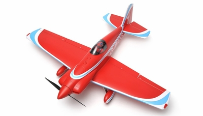 "New 5 Channel AeroSky RC RC Midget Mustang 55"" Scale Remote Control Plane ARF (Red) RC Remote Control Radio"