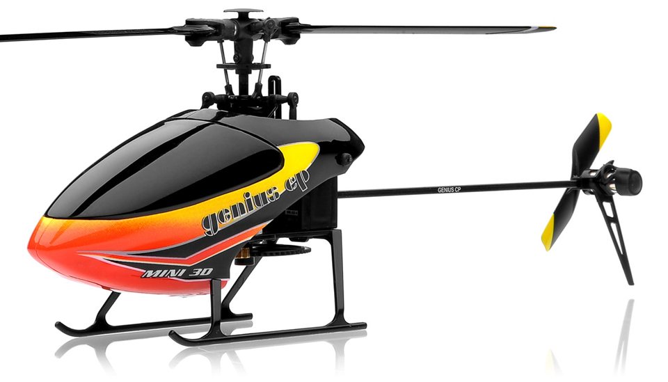 New!! 6 channel Walkera Genius CP Micro 3D Flybarless RC