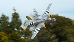 "NEW 7 Channel AirWingRC B25 Bomber 63"" Scale Electric RC Warbird ARF w/ Motor + ESC + Servos (Silver) RC Remote Control Radio"