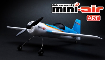 New Advanced Mini-Air 4 Channel Scale Sukhoi SU-26 RC Plane ARF RC Remote Control Radio 11A026-Su26-ARF