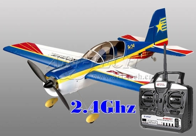 New Art-Tech New 2.4Ghz 4 Channel Yak 54 3D Aerobatic Airplane- Brushless + LiPo - Ready to Fly! RC Remote Control Radio