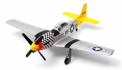 New Art-tech P-51D Mustang 4CH Brushless ARF Remote Control Scale Warbird RC Remote Control Radio
