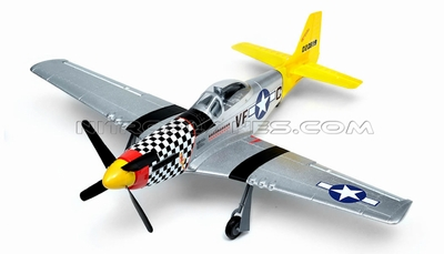 New Art-tech P-51D Mustang 4CH Brushless RTF Remote Control Scale Warbird RC Remote Control Radio
