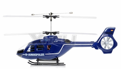 New Art Tech RC 400 Class EC-135 Double Rotor Helicopter 2.4Ghz RTF RC Remote Control Radio
