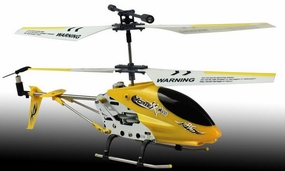 New Dynam Vortex M100 Infrared RC Micro Helicopter 3.5 Channel RTF + Transmitter with Gyro (Yellow) RC Remote Control Radio