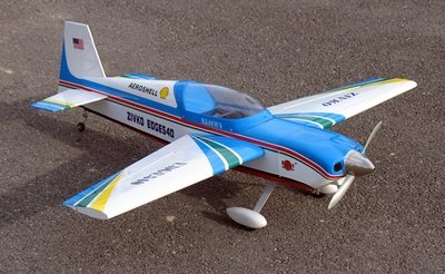 "New Edge 540 25 - 45""  Nitro Gas & EP  led RC Aerobatic Airplane Kit RC Remote Control Radio"