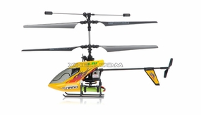 New Esky 2.4G Nano RTF 4 Channel Mini Helicopter (B) Yellow RC Remote Control Radio