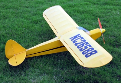 "New J3 Piper Cub 10 - 47"" ARF Nitro Fuel/Electric Radio Remote Controlled RC Airplane 17A01_PiperCub10"