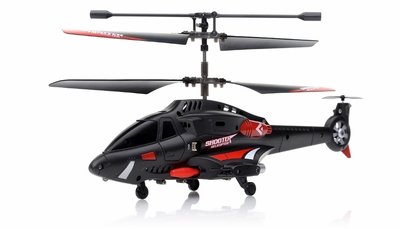 New JXD 343 Infrared 3.5CH RC Missile Shooting Helicopter RTF w/ Transmitter + Built in Gyro RC Remote Control Radio