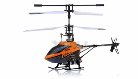 New Mingji F-Series 503 RC Helicopter 4 Channel 2.4Ghz RTF + Transmitter (Orange) RC Remote Control Radio