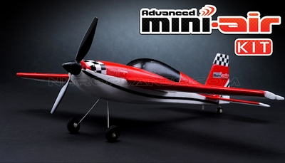 New Mini-Air 4 Channel Brushed Extra 300 3D Aerobatic RC plane Kit RC Remote Control Radio 11A300-Extra300-KIT