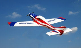 "New Nitro Models Lancair 120 - 71"" Nitro Gas RC Plane ARF RC Remote Control Radio"