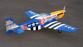 "New P-51D Mustang 60 - 66"" Nitro Fuel Powered  led RC Warbird Airplane ARF RC Remote Control Radio"