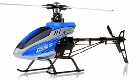 New RC Esky D550 3G 6-Channel Collective Pitch Flybarless Receiver-Ready Helicopter RC Remote Control Radio