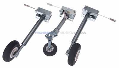 New RC Lander Suspension Metal Legs Retracts for F9F-2 Panther 70MM EDF Jet