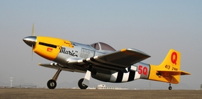 "New U.S. Army P-51D Mustang ""Marie"" Nitro-60 - 65.5"" Nitro Power Radio Controlled RC Plane ARF Kit w/ Retracts"