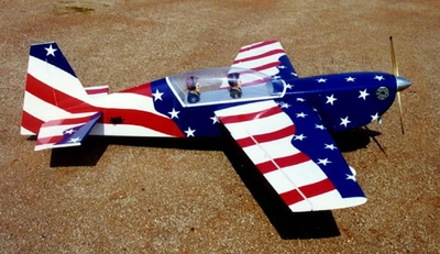 "New USA Edge 540T - 90 - 72"" Almost-Ready-to-Fly RC Remote Control Aerobatic Flying Airplane CMP-Gas-Edge540T90America"