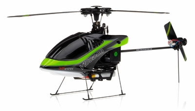 New Walkera V100D08 3D Flybarless RC Helicopter w/ 6 Channel 2.4GHz Devo-7 LCD Transmitter RTF Combo (Green) RC Remote Control Radio