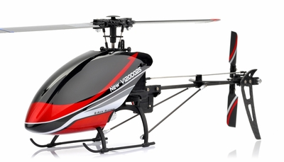 New Walkera V120D02S Flybarless 3D RC Helicopter w/ Auto Stabilizing Gyro + 6 Channel 2.4GHz Devo-7 LCD Transmitter RTF Combo RC Remote Control Radio