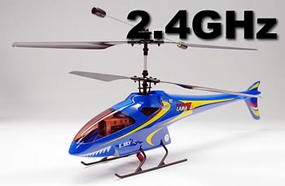 Newest 2.4GHz Lama V4 Version 4 Channel Esky 300 series Electric Co-axle Helicopter (Blue)