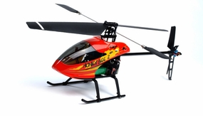 Newest 4 CH Esky 2.4GHz Red Honey Bee V2 Radio Remote Control Electric RC Helicopter RTF EskyHeli_HoneyBee4-V2-Red