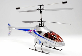 Newest Esky 2.4GHz Lama V4 Version 4 Channel Esky 300 series Electric Co-axle Helicopter (Silver)