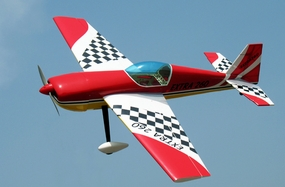 "NitroModels Extra 260 50 - 53.5"" 3D Aerobatic   Nitro Gas RC Airplane ARF RC Remote Control Radio"