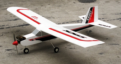 "NitroModels Super LT-40 - 70"" Nitro Power Remote Control Sports Plane Kit RC Remote Control Radio"