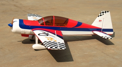 "NitroModels Yak-54 120 - 69"" Nitro Gas  led Aerobatic Airplane ARF New! RC Remote Control Radio"