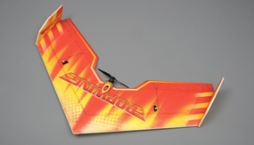 NitroPlane RC 4 Channel Pop Wing  EPP ARF Version  Plane kit + T2208 motor + ESC + servo + propeller RC Remote Control Radio