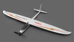 Nitroplanes Top RC Hobby Lightning 1500mm Folding Prop Brushless Electric RC Glider Sailplane ARF Almost Ready to Fly