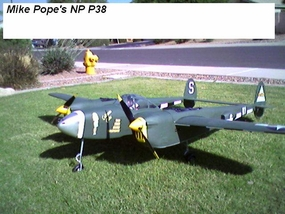 """OFFICIAL"" Thread - Twin & Multi Engine RC Aircraft >> RE: A new P-38 ARF"