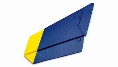 One Pc of Left Tail Wing-Blue 69A918-05-TailWingLeft-Blue