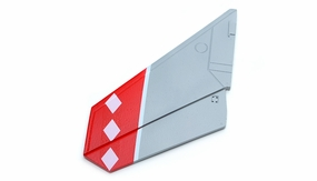 One Pc of Left Tail Wing-Red 69A918-05-TailWingLeft-Red
