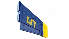 One Pc of  LeftVertical Tail-Blue 69A918-07-VerticalTailLeft-Blue
